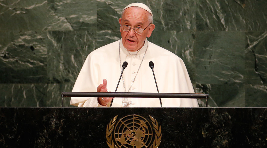Poverty, nuclear weapons and the environment: Pope Francis at the UN