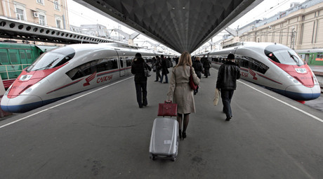 Russia & China to invest $15bn in high-speed rail link from Moscow to Kazan