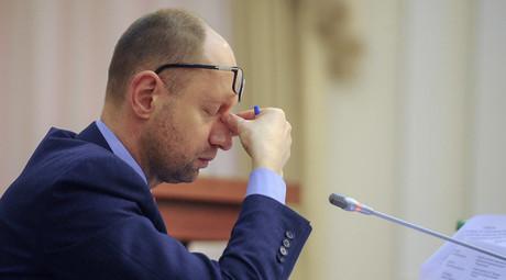 Ukraine's Prime Minister Arseny Yatseniuk. © Andrew Kravchenko