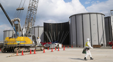 82 contaminated waste bags from Fukushima washed away by typhoon floods