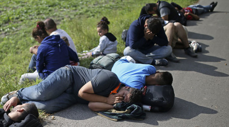 Refugees start sit-down hunger strike on Hungary-Serbian border - reports