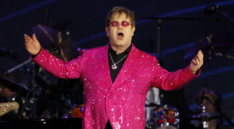 When 2 good men speak: Elton John prank exposed (AUDIO)