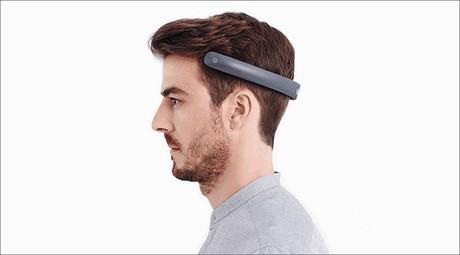 Knot anymore! Futuristic 'Batband' headphones play music through the skull