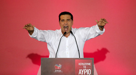 Syriza leading in exit polls as disillusioned Greeks cast votes in snap election