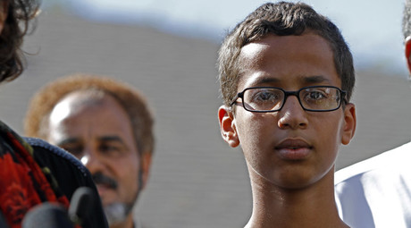 14-year-old Ahmed Ahmed Mohamed  © Ben Torres