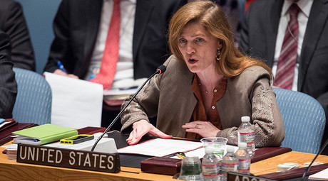 Samantha Power, the US ambassador to the United Nations © Andrew Kelly