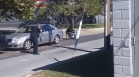 'Literally shot out of his wheelchair': Delaware councilman calls for fed probe of cop shooting