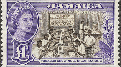 © British Government for Jamaican postal service