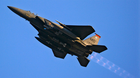 A U.S. Air Force F-15 fighter jet © Bob Strong