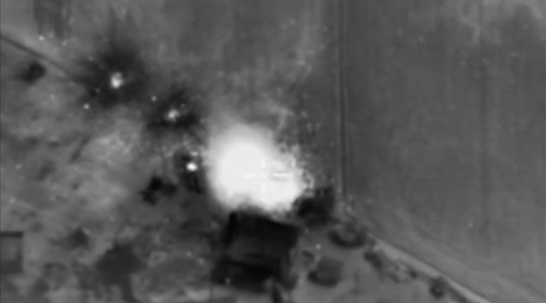 ISIS HQ, command point, ammo depot destroyed in Russian military Syria night op