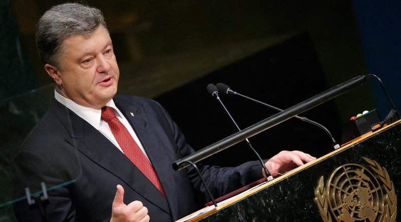 'Ukraine's Petro Poroshenko is failing on all sides'