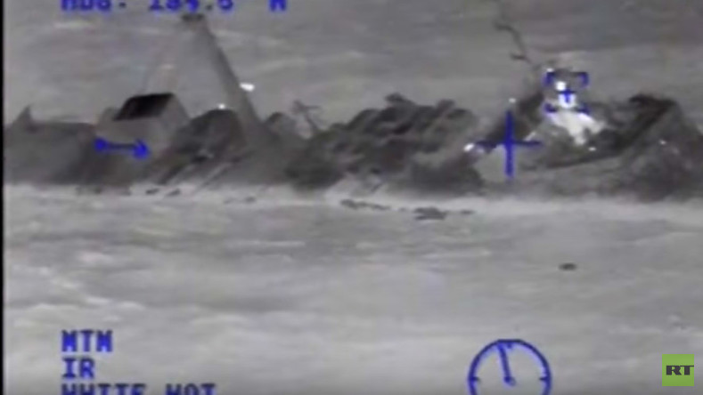 33 sailors missing in Hurricane Joaquin as US Coast Guard rescues 12 from another vessel (VIDEO)