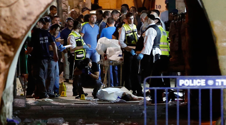 2 dead, 2 wounded, including 2-year-old, in Jerusalem stabbing attack