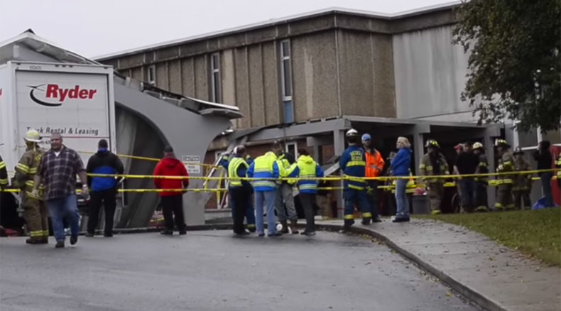 School roof collapses in N. Carolina, 20 students injured by concrete rubble (VIDEO)