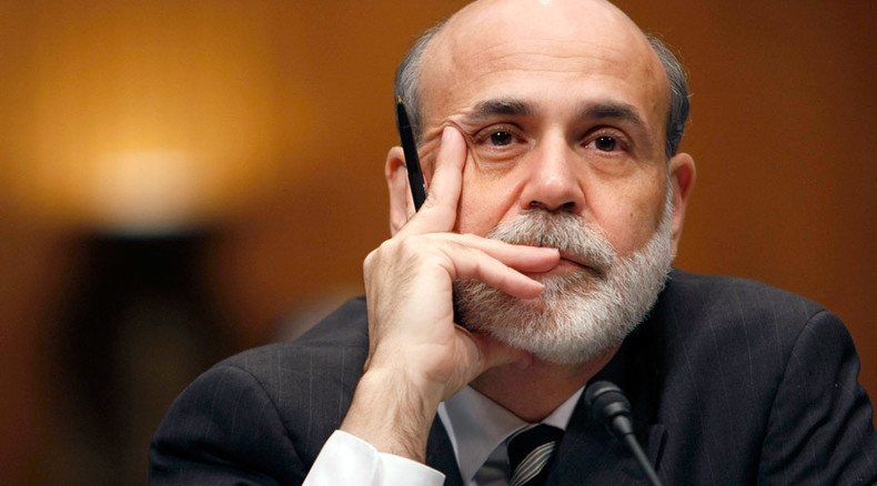 Bernanke calls for prosecutions of top financial execs over 2008 meltdown