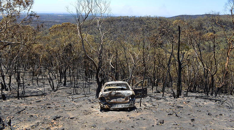 Bushfires rage in Australia as 'Godzilla El Nino' takes affect