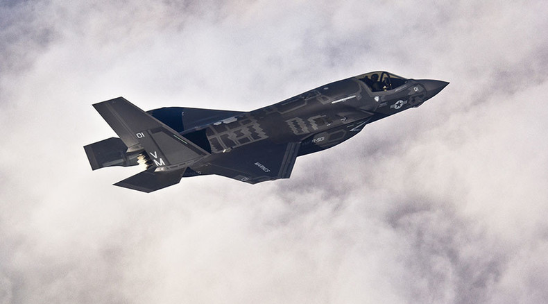 F-35 deathtrap: Pentagon jet's ejection seat could snap pilot's neck