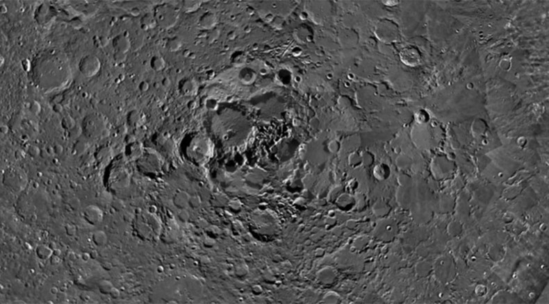 Creepy shadows: Scientists puzzled over strange 'holes' on the Moon (PHOTOS)
