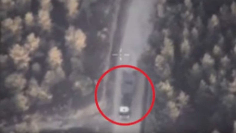 Russian drone films ISIS militants hiding weapons, munitions near Syrian mosques (VIDEO)