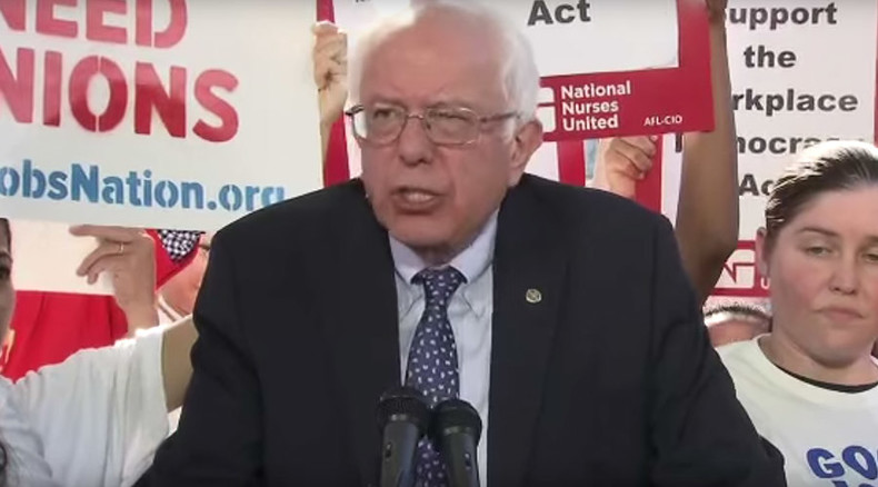 Bernie Sanders unveils bill proposing major pro-union labor reforms