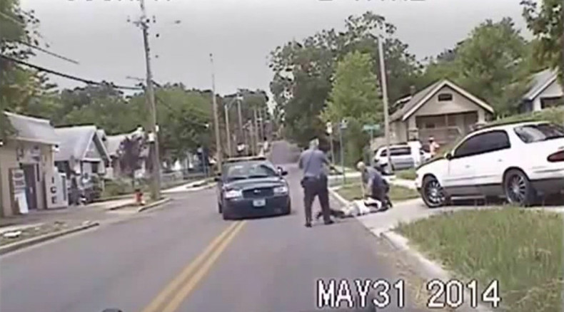 Kansas cop Tasers unarmed black man for parking violation, 'lies' about it in report (VIDEO)
