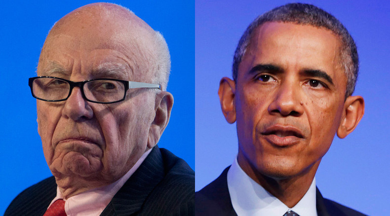 Murdoch apologizes after social media blast him for hinting Obama not 'a real black president'