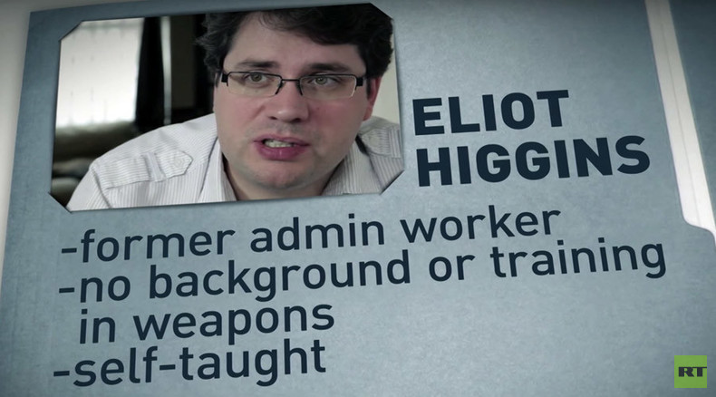 Hide, it's RT! Amateur journo behind Bellingcat so informed on Russian targets, he ducks interview