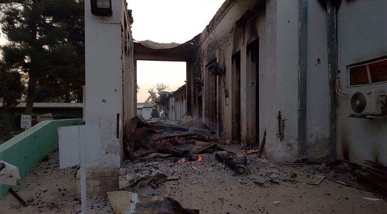 US to make 'condolence payments' to compensate Kunduz hospital bombing victims' families – Pentagon