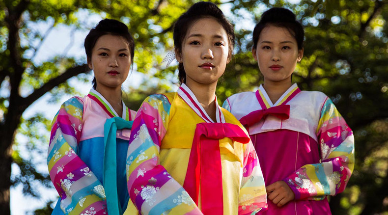 Photographer puts delicate beauty of North Korean women into spotlight
