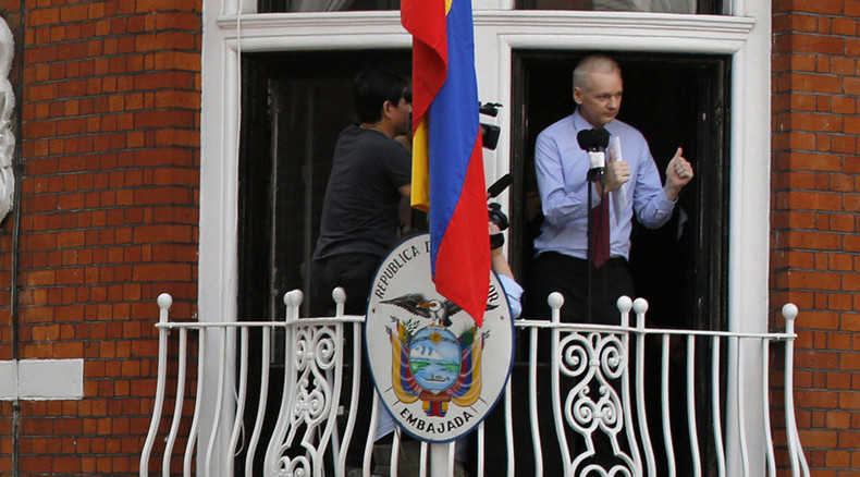 Julian Assange: London police take 24-hour guard off Ecuadorian Embassy