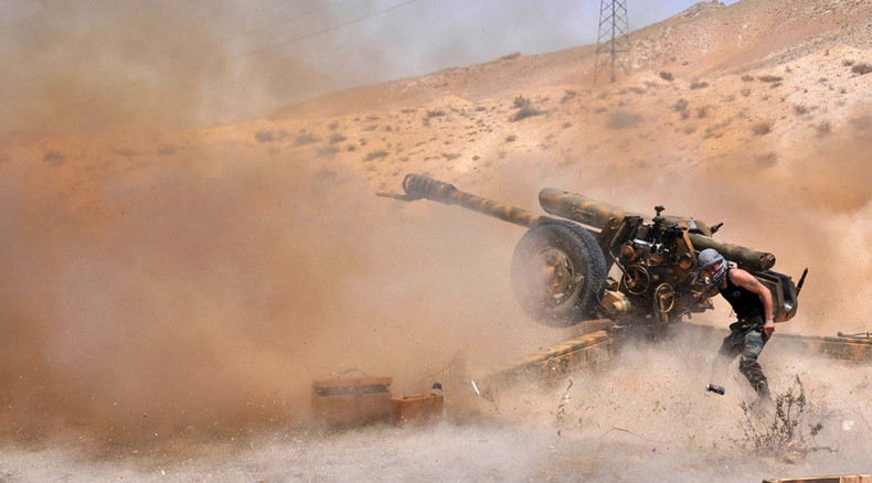 Syrian army advances under Russian air cover, sparks fiercest clashes ever
