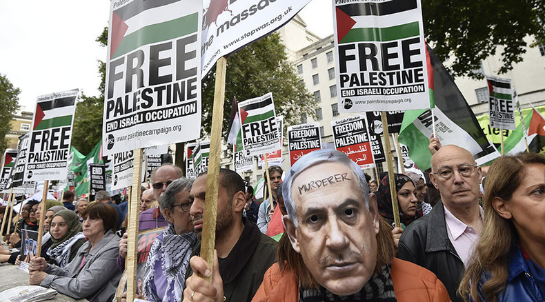 #IsraeliLivesMatter: London protest condemning 'Palestinian incitement' challenged