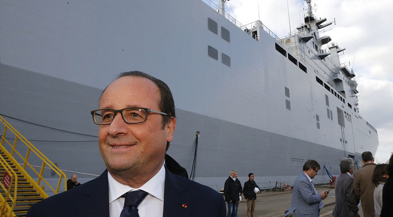 France wants to sell warships to Russia