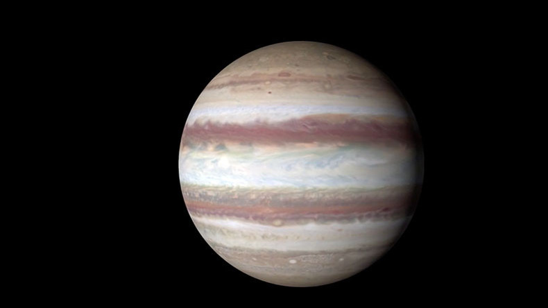 Wave near equator: NASA's Hubble Telescope animation shows Jupiter in 4k Ultra HD (VIDEO)