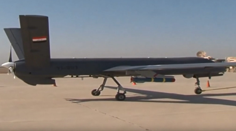 Iraq shows off airstrike by new Chinese-made combat drone (VIDEO)