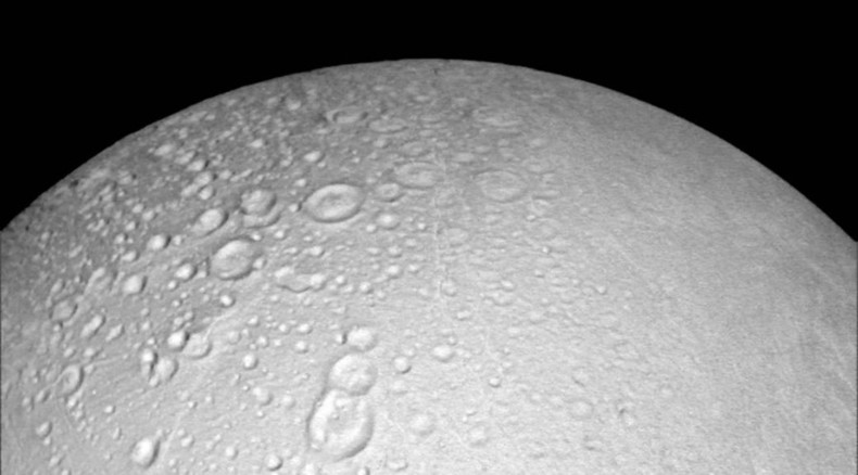 'Saturnian Snowman': NASA releases 'best-ever' northern views of planet's enigmatic moon