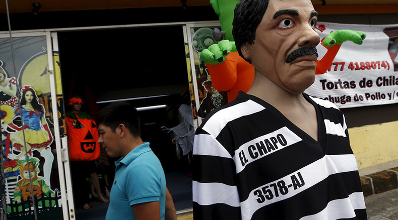 Mexican drug lord Guzman hurts face & leg in 'hasty retreat' from police raid