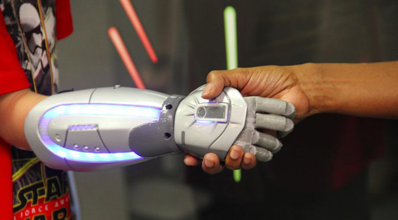 Amputee kids everywhere can soon get awesome, 3D-printed Star Wars prosthetics