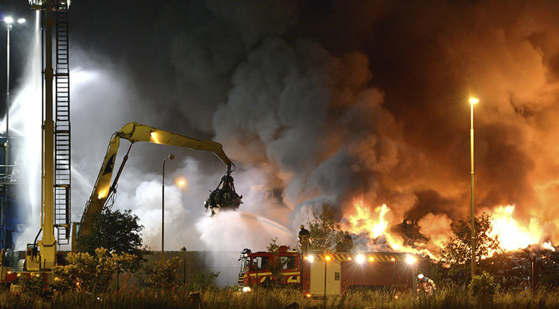 3rd refugee shelter torched in Sweden in 6 days