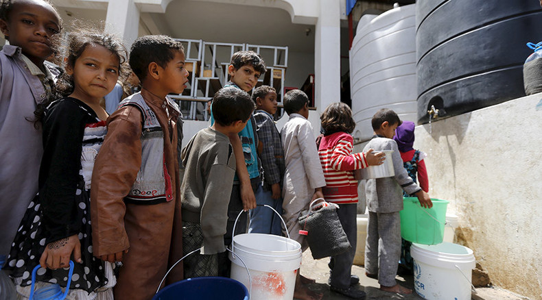 Humanitarian catastrophe: UNICEF says 537,000 Yemeni children at risk of malnutrition