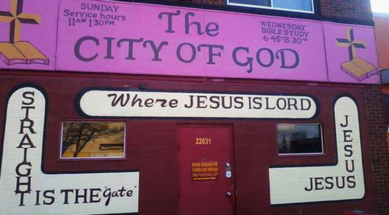 Detroit pastor shoots, kills assailant during church service
