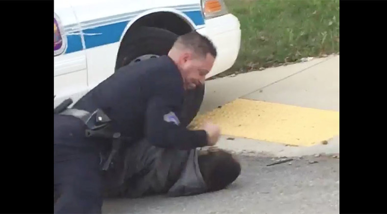 Video of cops tasing handcuffed man goes viral on Twitter, police say suspect tried to escape