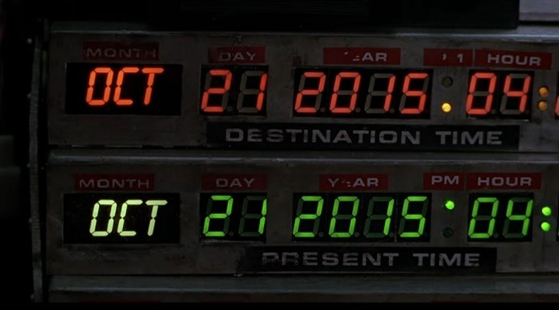 Great Scott! It's (almost) 'Back to the Future' Day!