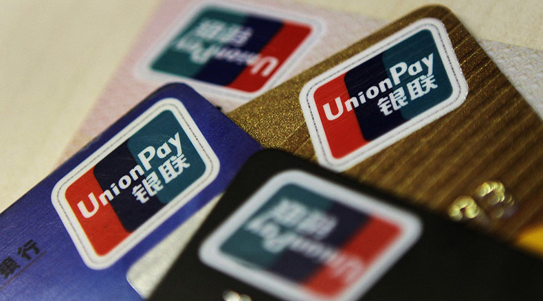 China's UnionPay begins operations in Crimea