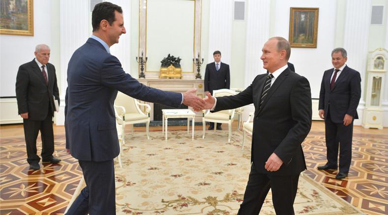 'Russia gatecrashed underground NATO party in Syria'