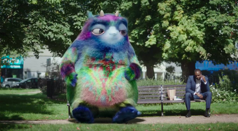 Austerity ads? Tories' benefit cuts minister spends £8.5m on fuzzy purple monster