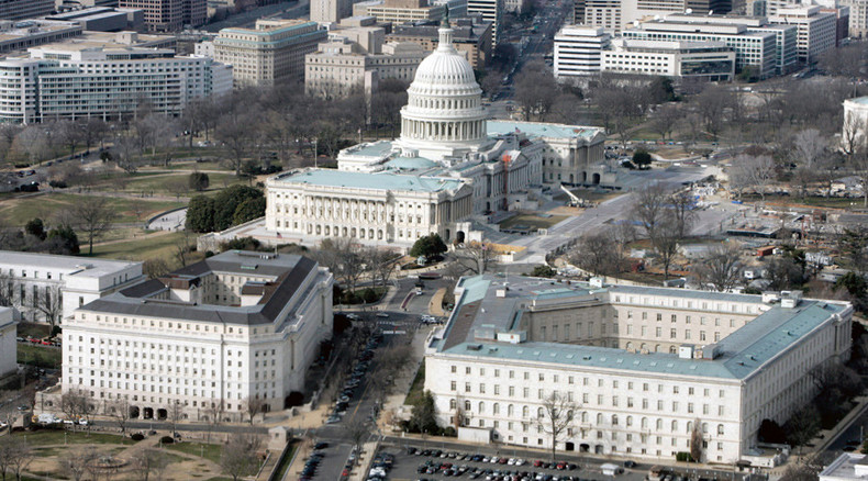 Suspicious substance found at Congress building in Washington, police at scene