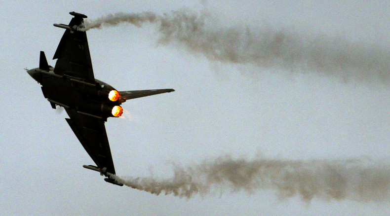 Jumping the gun? RAF already secretly trained to hit ISIS in Syria