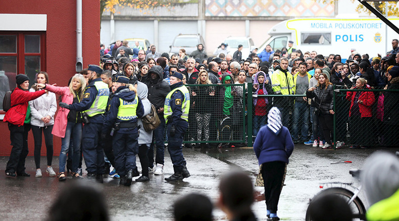 Schools threatened day after deadly Sweden knife attack