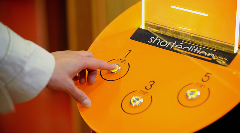 Press button for... short story: French city launches literary vending machines